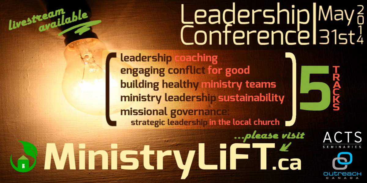 MinistryLift 2014 Leadership Conference 1
