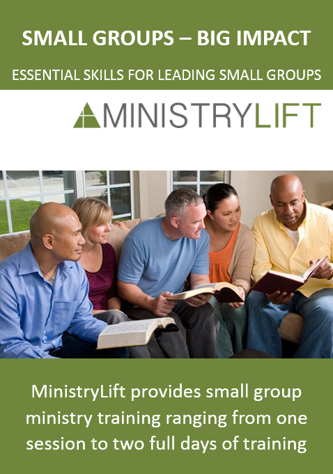 MinistryLift Small Group Ministry Training