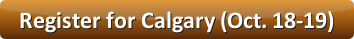 Register for small group ministry training in Calgary (Oct. 18-19, 2014)
