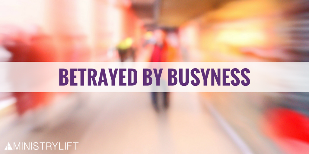 Blur of busyness